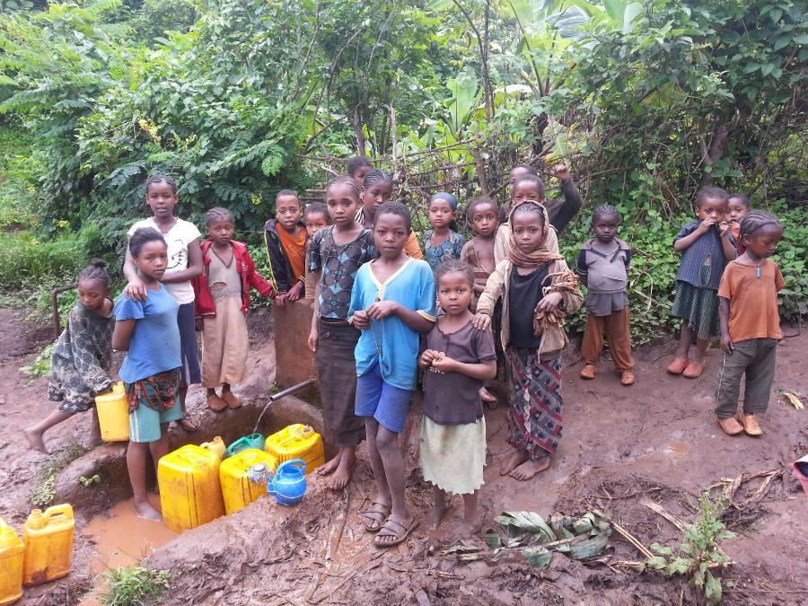 15 - Water Project visit Aramo