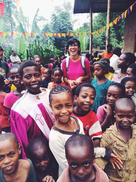 nadine in ethiopia