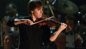 Joshua Bell in concert.