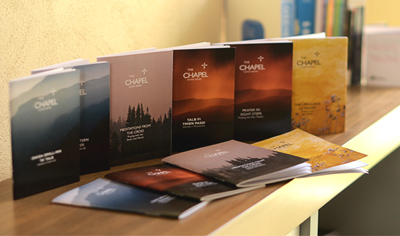 Youth Fellowship adoration chapel booklets
